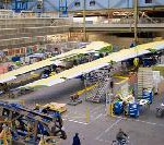 Boeing Assembles First Set of 747-8 Wings