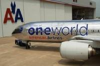 American Airlines unveils special Oneworld exterior paint design on one of its Boeing 777 aircraft