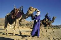 Trekken und feiern mit den Blauen Rittern der Wüste