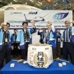 """Boeing und ANA feiern mit einer """"Kagami Wari""""-Zeremonie den Start in eine neue Ära des Flugzeugbaus"""