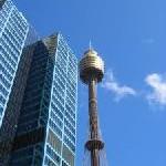 Zu Fuß auf den höchsten Turm Sydneys
