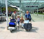Sommer 2009: Tausende starten vom Airport Nürnberg in die Großen Ferien