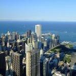United Airlines zieht in die City von Chicago
