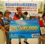 """""""Tour Taiwan 2008-2009"""" mit Vergünstigungen für internationale Touristen"""