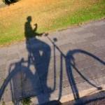 Mit dem Rad durch den leuchtenden Herbst