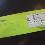 Air Baltic führt Check-in-Pauschale ein
