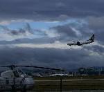 Flugbetrieb am Flughafen Frankfurt