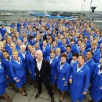 KLM introduces new ladies…with a touch of orange