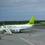 Air Baltic Paints EU Flags on its Aircraft