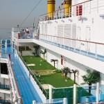Gepflegt Golfen an Bord von Costa Kreuzfahrtschiffen