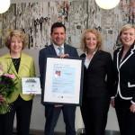 TÜV Rheinland-Zertifizierung für Adagio City Aparthotel