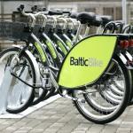 Mit dem Fahrrad durch Riga