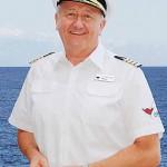 Erster Kapitän von AIDAblu ist Dr. Friedhold Hoppert