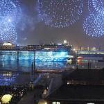 Feuer und Eis: Siebtes Schiff AIDAblu erfolgreich getauft