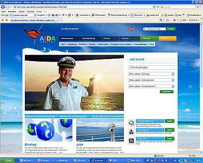 AIDA stellt neues Karriereportal unter www.aida-jobs.de bereit
