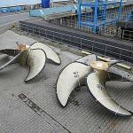 Giganten aus Messing: Schiffspropeller für das Kreuzfahrtschiff AIDAsol