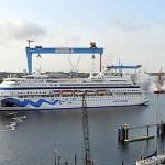 AIDAcara startet Sommersaison in Kiel