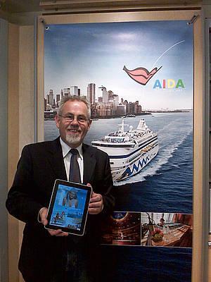 AIDA Cruises liefert iPads an Expedienten aus