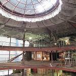 Kreuzfahrtschiff AIDAsol: 400 Quadratmeter Glas pro Seite fürs Theatrium