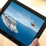 AIDA bietet eine der beliebtesten iPad Apps an