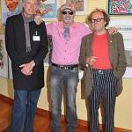 AIDA: Trio prominenter Künstler malt live an Bord