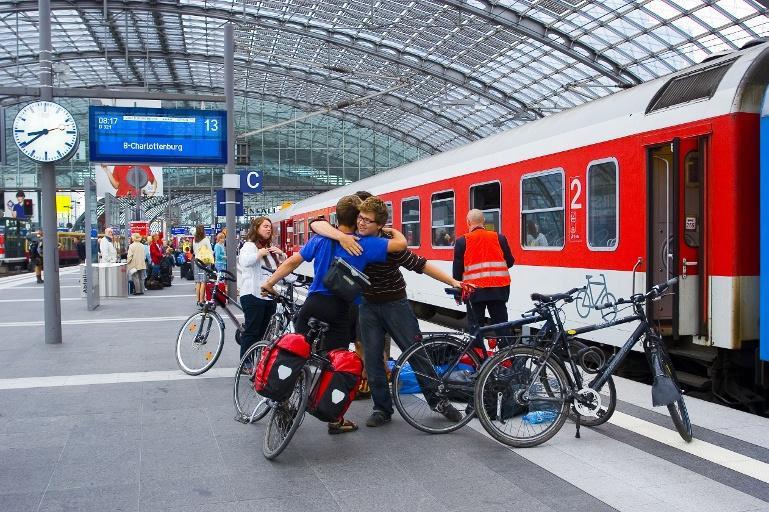 Ehrentag für das Fahrrad Mit dem City Night Line über Nacht komfortabel zu den schönsten Radtouren in Europa
