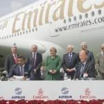 Emirates bestellt 32 Airbus A380 im Wert von 11,5 Milliarden US-Dollar Insgesamt 90 Superjumbos festbestellt