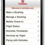 Emirates jetzt auf iPhone, Blackberry und Co: Mobile Website ermöglicht Buchungen einfacher via Smartphone