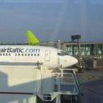 Passagierzuwachs für Air Baltic in Deutschland