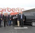 Sylt: Shuttle-Service auf dem Flughafen: Kooperation mit Mercedes-Benz