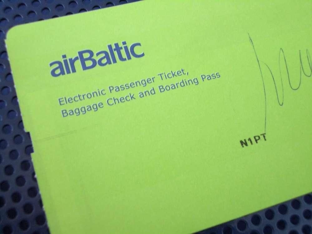 Bundeskanzlerin Merkel lobt Air Baltic