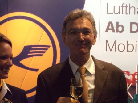 Christoph Franz folgt Wolfgang Mayrhuber als Vorstandsvorsitzender der Deutschen Lufthansa