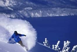 Zum Valentinstag nach Heavenly Lake Tahoe, USA