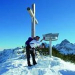 Das Tannheimer Tal bietet über 70 Kilometer geräumte Winterwanderwege