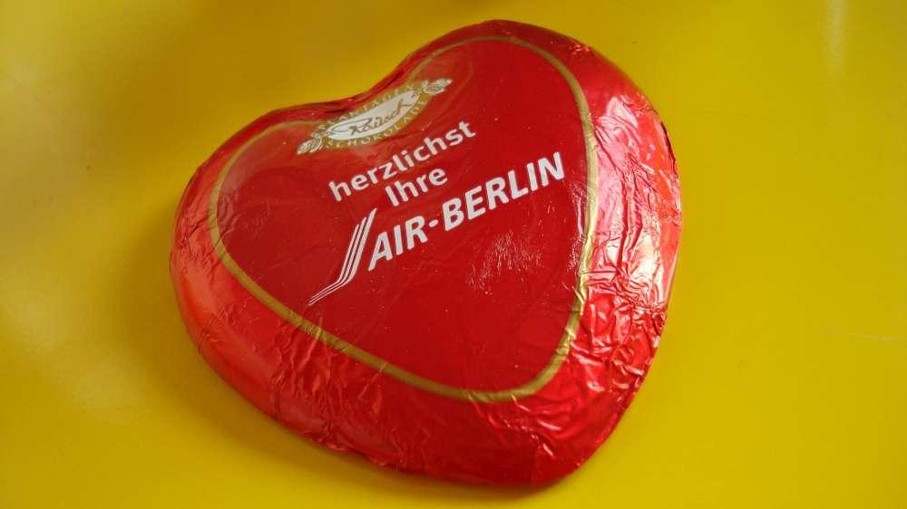 Air Berlin: 1. Wahl für Herzklopfen
