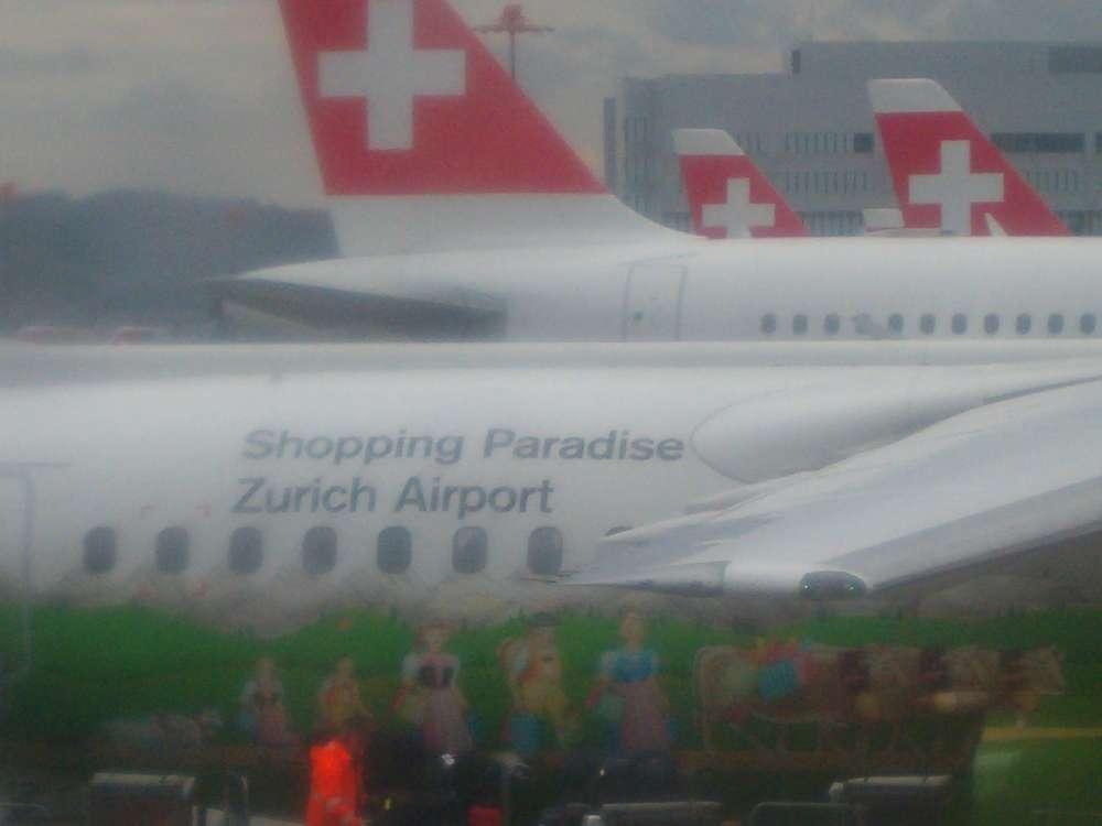 "Zürich: ""Tax + Duty Free""-Shopping bei Ankunft"