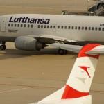 Austrian Airlines Verkehrsergebnis für Jänner bis März 2011: Krisen im Nahen Osten und in Japan belasten Ergebnis