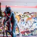 Düsseldorf: Topmodel Marcus Schenkenberg meets Monkey's