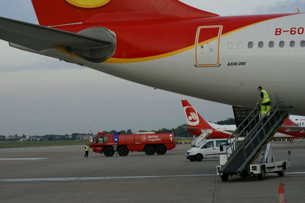 Flughafen Berlin: 9.000 Anschlussverbindungen wöchentlich