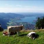 Oberbayern aus der Vogelperspektive  Das ist ja abgehoben!