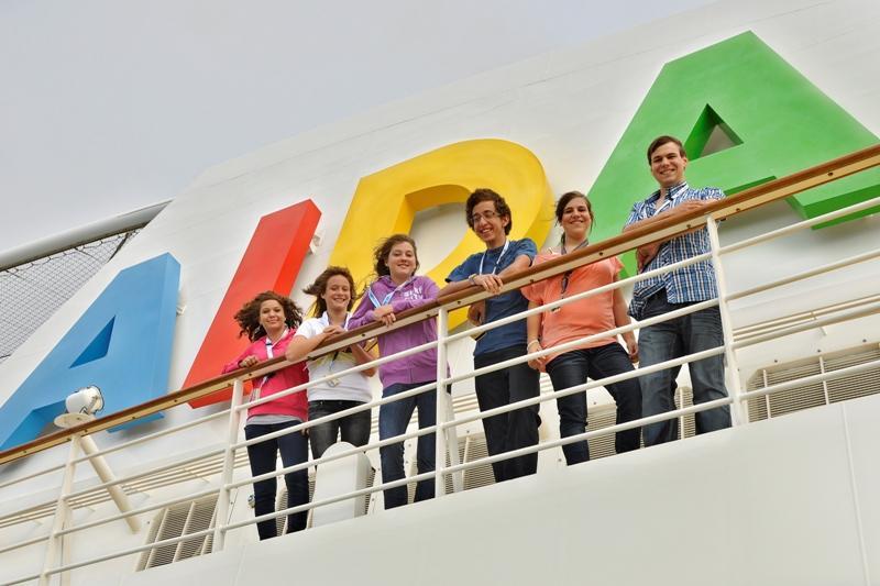 Coole Ferien für Teens an Bord von AIDA