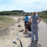 Professionelle Reiseleitung : zu Fuß, im Bus und auf Radtouren
