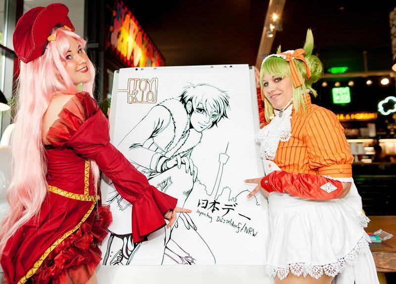 Japan-Tag Düsseldorf/NRW: Tausende Besucher machen Rheinufer zu Manga-City
