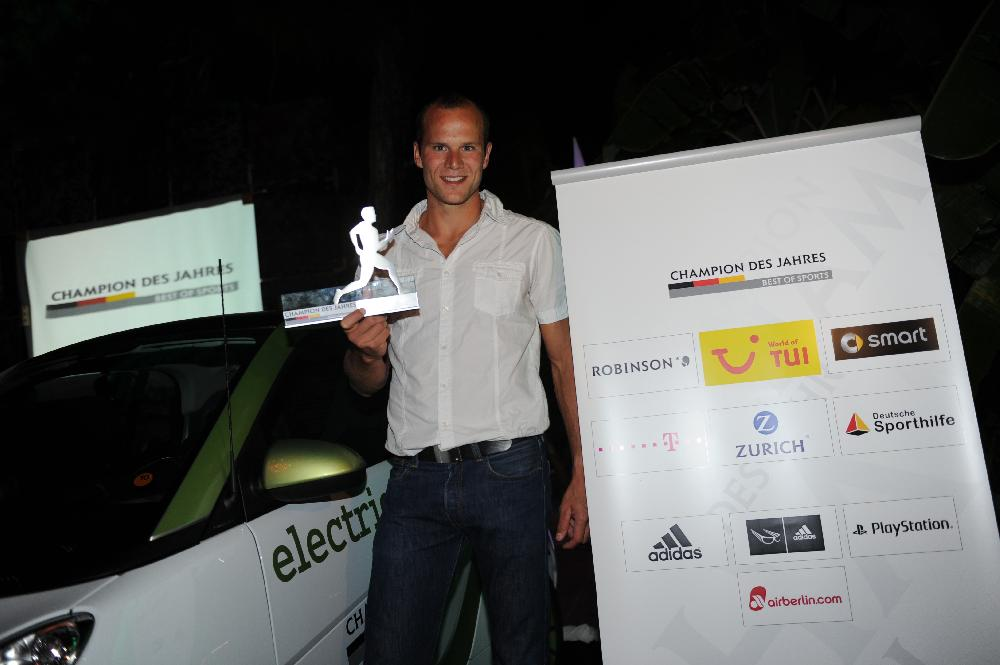 TUI: Max Hoff ist CHAMPION DES JAHRES 2011