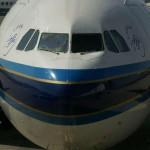 Erstflug des Airbus A380 von China Southern