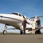 Geschäftsreisen-Alternative und im Trend: Businessjets