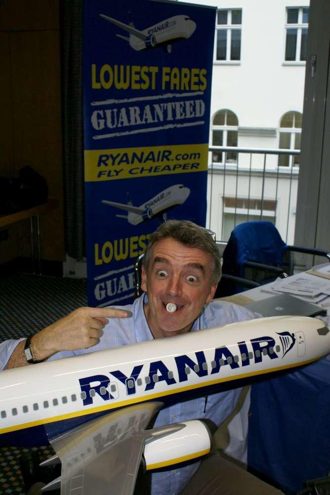 Ryanair-Chef provoziert in Spanien