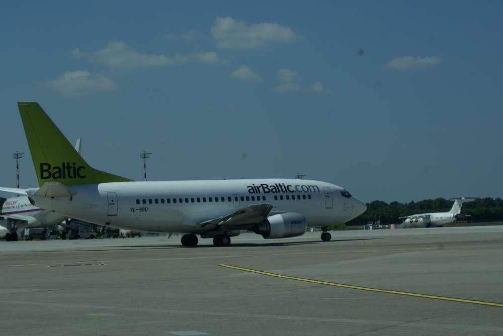 Air Baltic verzeichnet erhöhte Passagierzahlen
