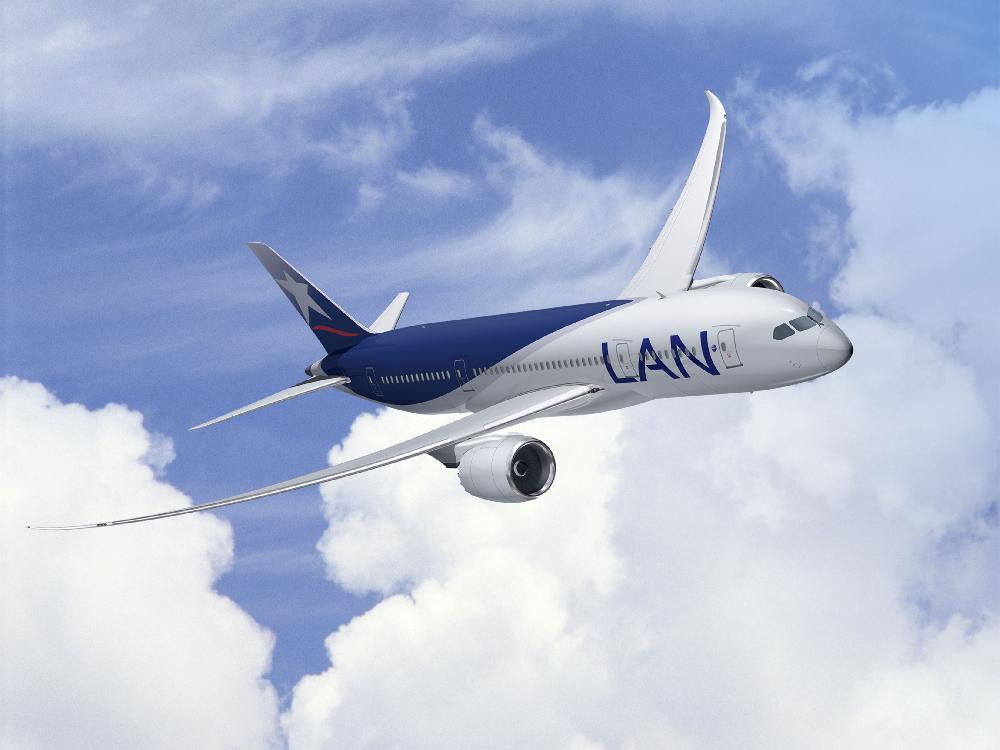 LAN Airlines gibt Pläne für ihre Boeing 787  bekannt