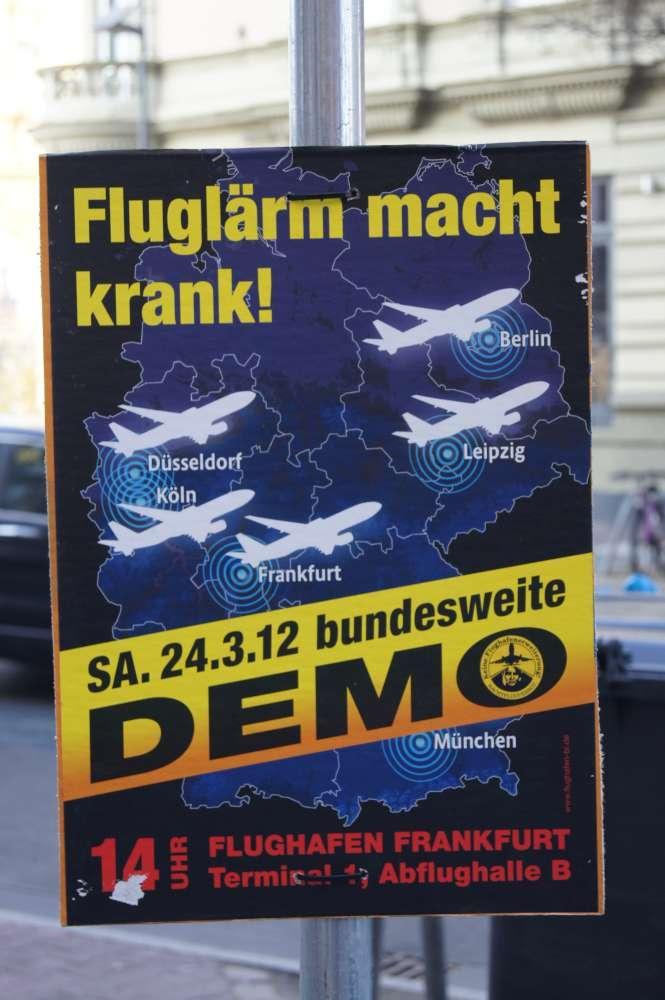 Genug vom Lärm: Tausende demonstrieren überall in Deutschland gegen Fluglärm